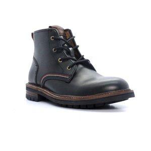 Men's new Tommy Hilfiger Hugo leather boots